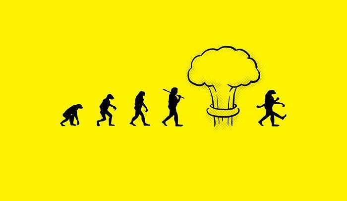 Сборник хлестких комиксов на тему эволюции 😲
